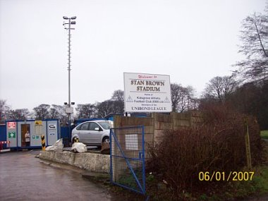Kidsgrove Athletic entrance