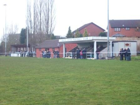 Coppice Colliery Ground main stand