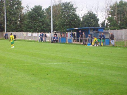 Dugouts & small stand