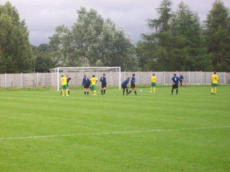 Rochdale Town's penalty for 3-2