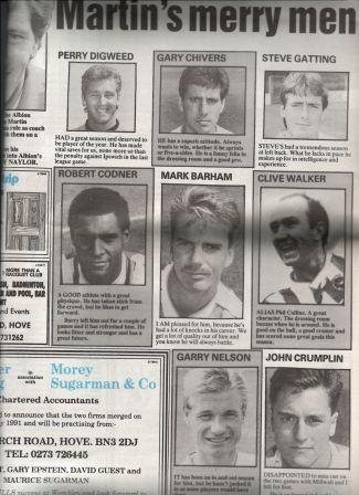 Albion Squad 1990-91 (1) comp