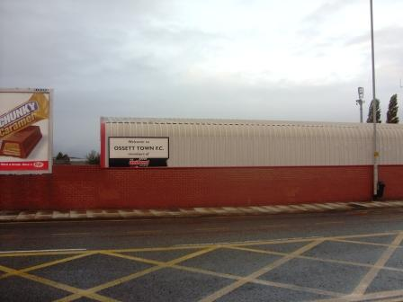 Back of the main stand