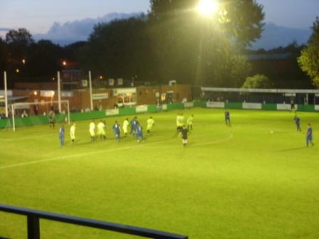 Sutton free kick near the end