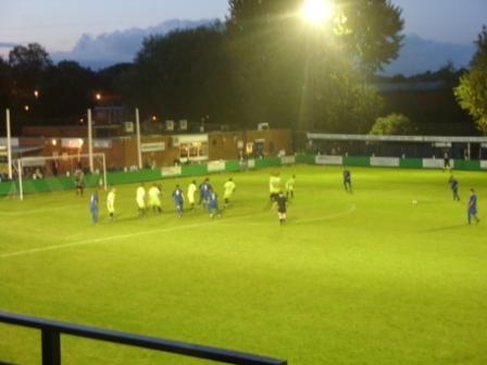 Sutton free kick near the end