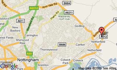 Carlton map