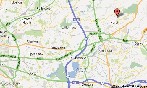 ashton united map