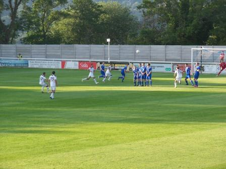Action v Zimbru Chisinau July 2012 (0-0)
