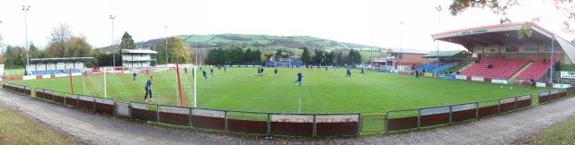 Newtown FC Latham Park (1)