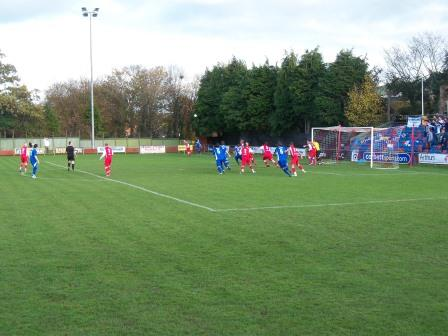 Action v Port Talbot Town November 2011 (2-0)