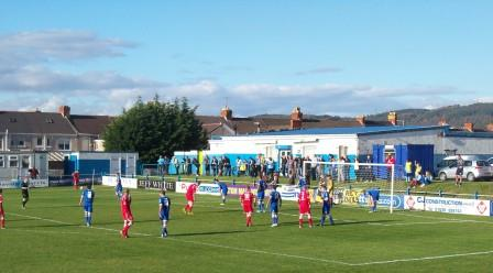 Action v Bangor City Oct 2012 (1-1)