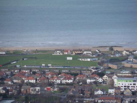 View from Hillside of Prestatyn Bay