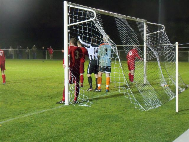 Action vs Ruthin Town in Cymru Alliance November 2010 (2-0)