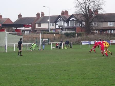 Penalty on 79 for Gresford to make it 2-0