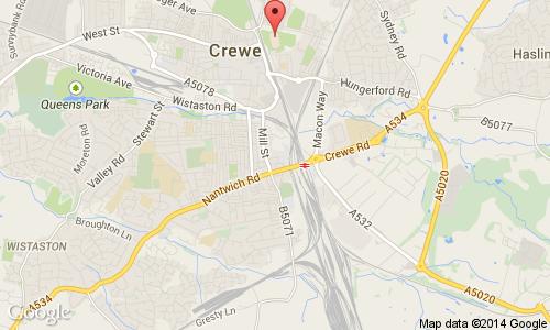 mmu cheshire map