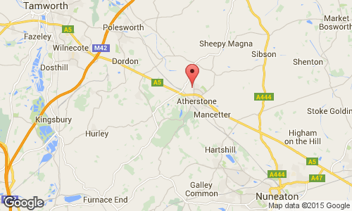 atherstone map